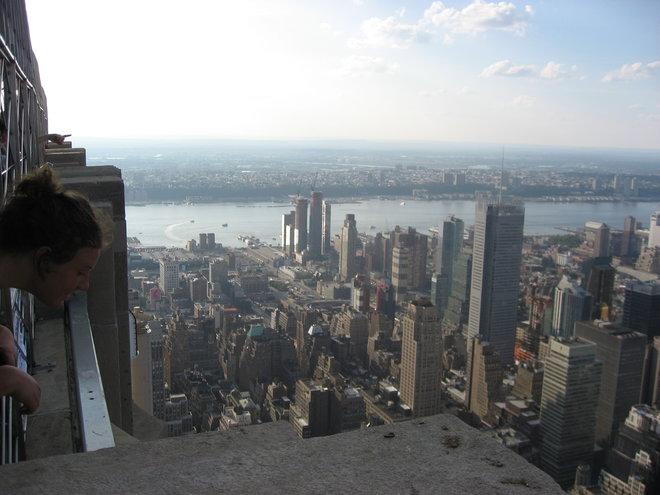 Tove on the Empire State Building